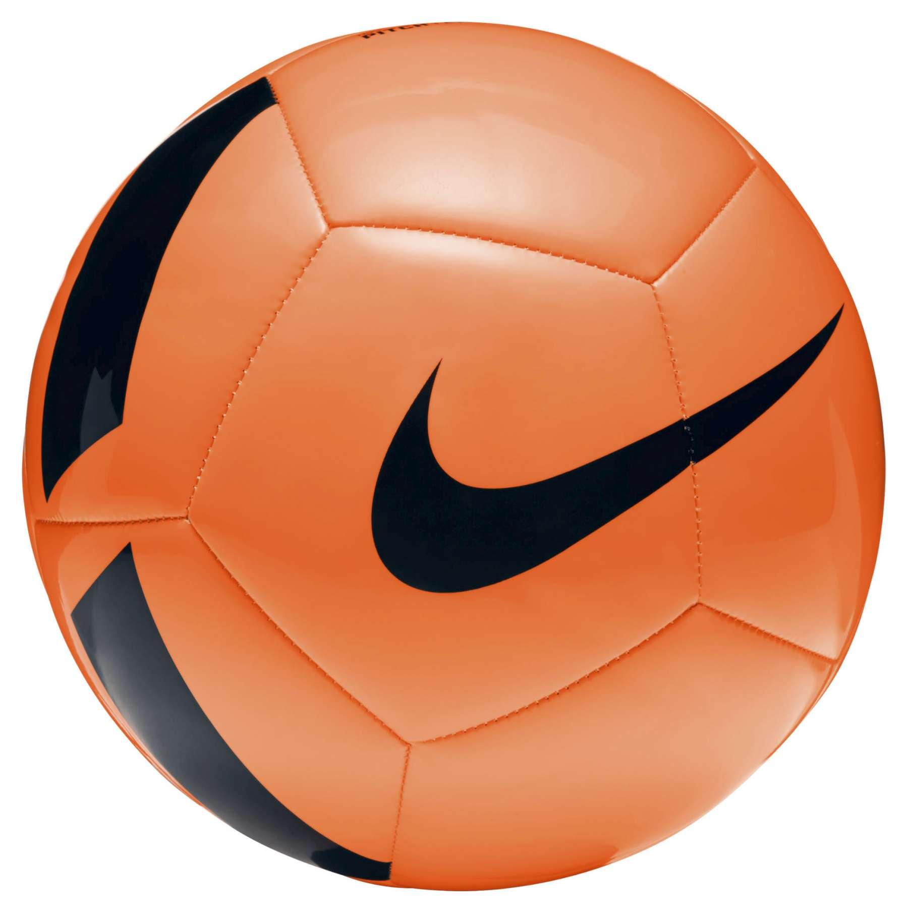 Fussball Nike Pitch Team Orange Schwarz